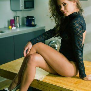 brunette escort in heathrow