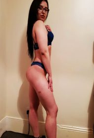 Aisha Curvy Brunette Escort