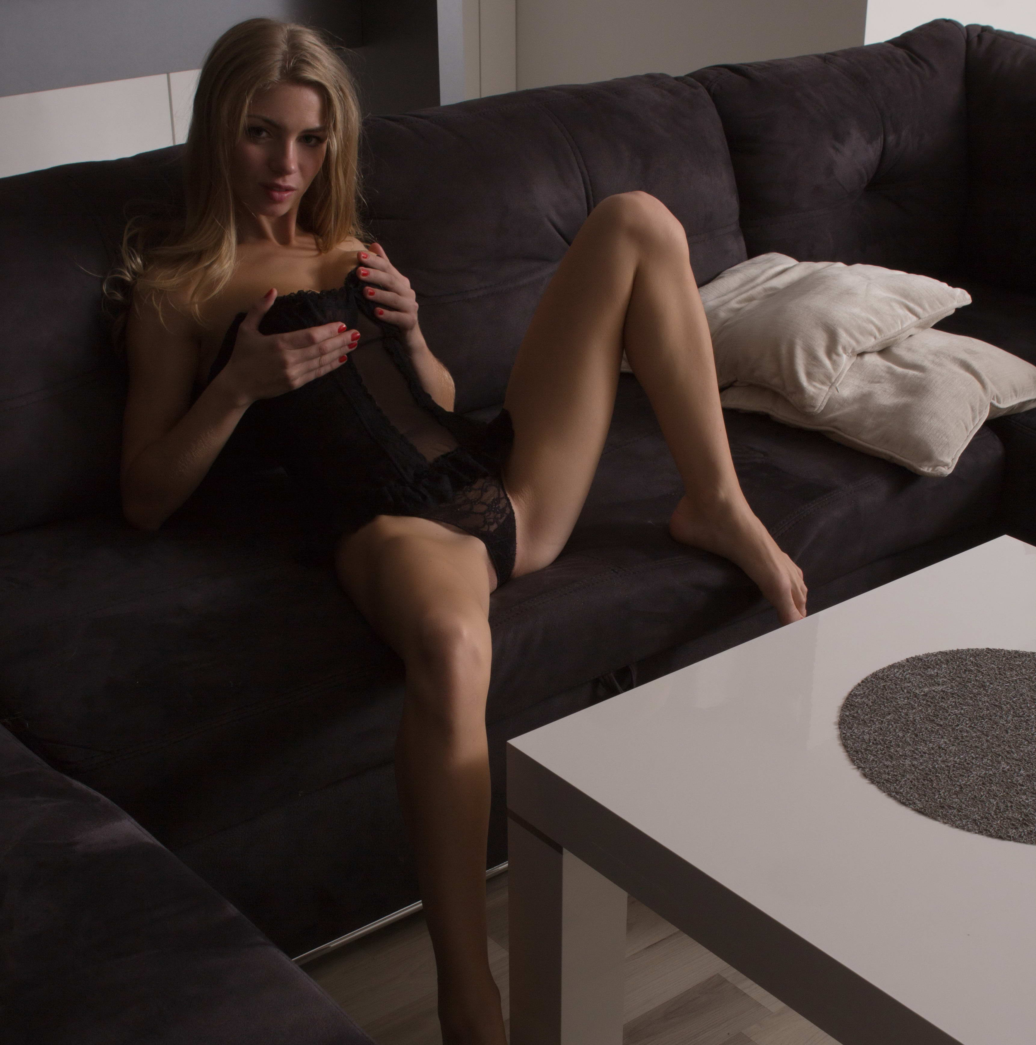 Pretty Girl With Pretty Legs